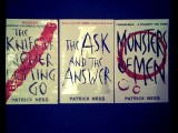 Under the Covers # 2: The Knife of Never Letting Go by Patrick Ness.
